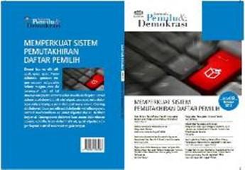 Jurnal 2 | Memperkuat Sistem Pemutakhiran Daftar Pemilih