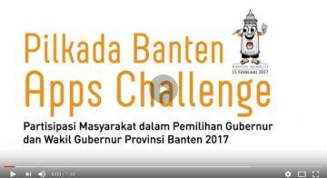 Sosialisasi Pilkada Banten Apps Challenge