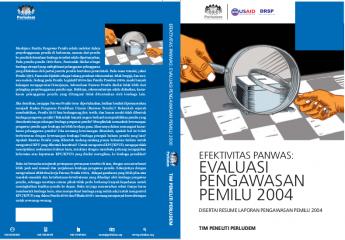 Efektivitas Panwas: Evaluasi Pengawasan Pemilu 2004