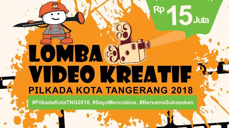 KPU Kota Tangerang dan Perludem Gelar Lomba Video Kreatif