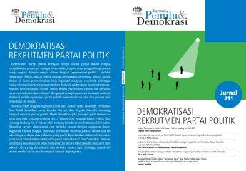 Jurnal 11 | Demokratisasi Rekrutmen Partai Politik