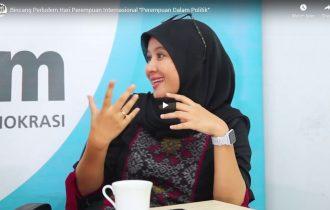 "Bincang Perludem Hari Perempuan Internasional ""Perempuan Dalam Politik"""