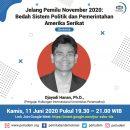 Materi Presentasi Diskusi Virtual Perludem Jelang Pemilu November 2020: Bedah Sistem Politik dan Pemerintahan Amerika Serikat