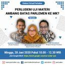 Materi Presentasi Diskusi Virtual Perludem Uji Materi Ambang Batas Parlemen ke MK