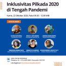 Materi Presentasi Diskusi Publik Inklusivitas Pilkada 2020 di Masa Pandemi