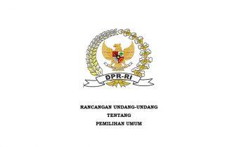 Draf RUU Pemilu Pemutakhiran 26 November 2020