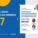 Konstitusionalitas Desain Pemilu Serentak 2024 Pasca Ditariknya RUU Pemilu