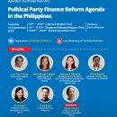 Presentation Material Political Party Finance Reform Agenda in the Philippines