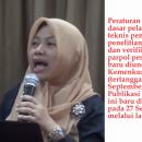 Evaluasi Pendaftaran Partai Politk Peserta Pemilu
