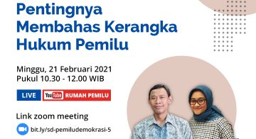 Materi Presentasi Serial Diskusi Pemilu dan Demokrasi #5
