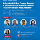 Reforming Political Party Finance Systems in Southeast Asia: Towards Greater Transparency and Accountability